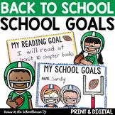 Back to School Goal Setting Activities