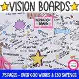 New Year Goal Setting Activity | Vision Board | Self -Este