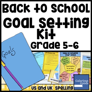 Goal Setting Kit - Back to School