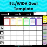 Back to School Goal Setting Sheet