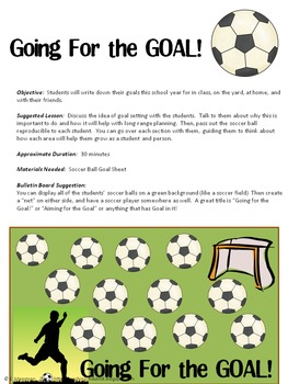 Goal Setting for Back to School