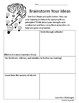 Growth Mindset Setting Goals Activity, Back to School Structured Writing