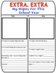 Back to School- Classroom Newsletter