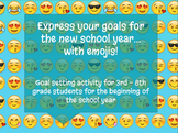 Back to School Goals with Emojis