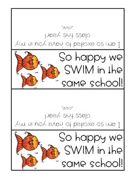 Back to School Goldfish Bag Toppers
