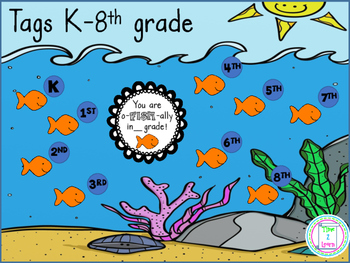 Back to School Goldfish Label