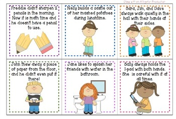 Back to School- Good/Bad Choices Sort-Whole Group (Routines/Procedures)