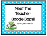 Back to School Goodie Bag-Frog theme