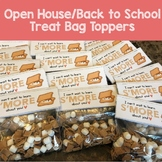 Back to School Goodie Bag Treat Toppers - Camping Theme Sm