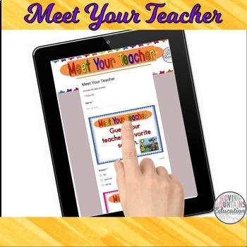 Google Classroom™ Beginning of the Year Activities Mega Bundle