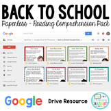 Back to School: Google Drive Close Reads