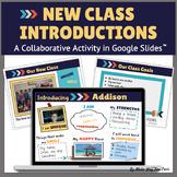 Back to School Google Slides Collaborative Class Activity