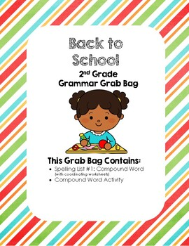 Back to School Grammar Grab Bag FREEbie