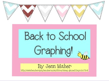 Back to School Graphing: 10 Promethean Board Flipcharts