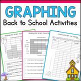 Back to School Graphing Activities