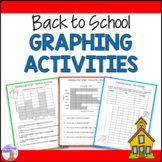Back to School Graphing Activities