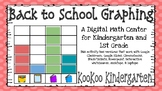 Back to School Graphing- A Digital Math Center (Compatible