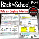 Back to School Graphing Activities, First Day/Week of Scho