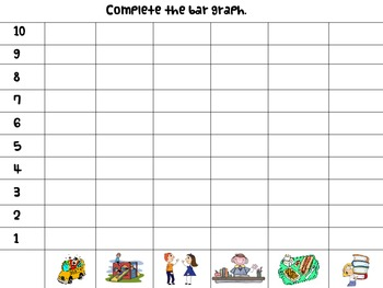 Back to School Graphing Activity