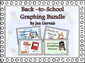 Back-to-School Graphing Bundle
