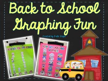 Back to School Graphing Fun {FREEBIE}
