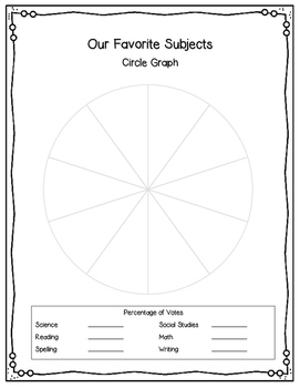 Back to School Graphing Projects & Writing Prompt