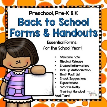 Back to School Great Start Bundle!