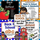 Back to School Great Start Bundle!