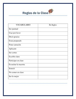 Back to School - Greetings & Class Rules Bundle in Spanish- Ice Breaker Prompt