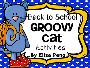 Back to School Groovy Cat Pack