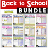 Back to School Bundle: Distance Learning Ready!