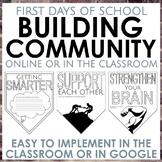 First Day of School: Building Classroom Community in Middl