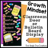 Classroom Decor | Door Decoration Set | Back to School | Growth Mindset