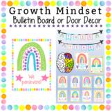 Editable Back to School Growth Mindset Bulletin Board or Classroom Door