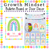 Door Decoration Set | Editable| Back to School | Growth Mindset