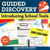 Back to School Guided Discovery of School Tools • First Week of School