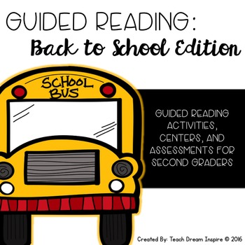 Back to School Guided Reading