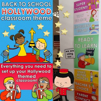 Back to School – HOLLYWOOD CLASSROOM THEME