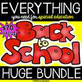 Back to School HUGE BUNDLE for special education teachers
