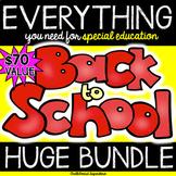 Back to School HUGE BUNDLE for special education teachers