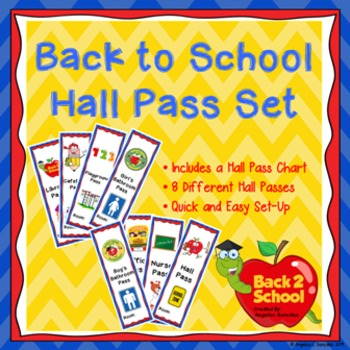 Back to School Hall Pass