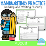 Back to School Handwriting Practice