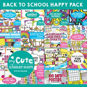 Back to School Happy Classroom Pack