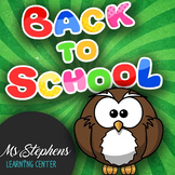 Back to School - Happy New Year - Spanish Activity - ready