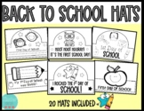 Back to School Hats