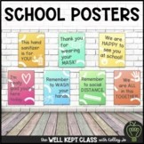 Back to School Covid Signs