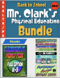 Back to School Health and PE Bundle (Yearly Plan 5)