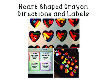 Back to School Heart Crayon Gift