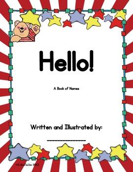 Back to School Hello Book