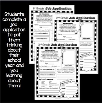 Back to School Help Wanted: Getting to Know You
